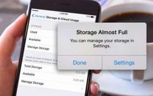ازاد کردن حافظه آیفون در iOS 11