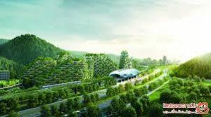 پاورپوینت شهر سبز در معماری پایدار