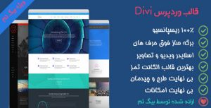 دانلود قالب وردپرس شرکتی Divi