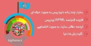 افزونه چند زبانه کردن سایت وردپرس  WPML