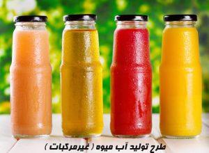 طرح تولید آب میوه ( غیرمرکبات )