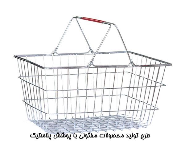 طرح تولید محصولات مفتولی با پوشش پلاستیک
