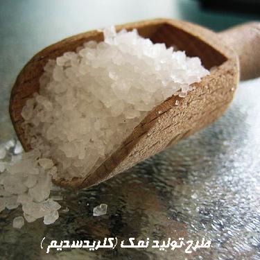 طرح تولید نمک (کلریدسدیم )