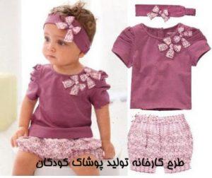"""<span itemprop=""""name"""">طرح کارخانه تولید پوشاک کودکان</span>"""