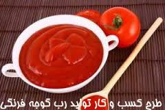 طرح کسب و کار تولید رب گوجه فرنگی
