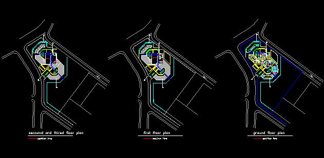 نقشه های یک موزه ایرانی بطور کامل