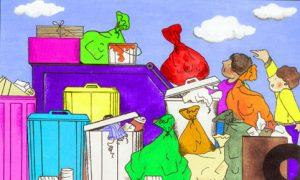 مقاله در مورد زباله طلای کثیف