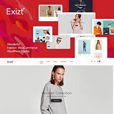 قالب وردپرس حرفه ای فروشگاهی Exizt