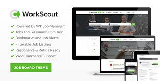 قالب وردپرس حرفه ای کاریابی WorkScout