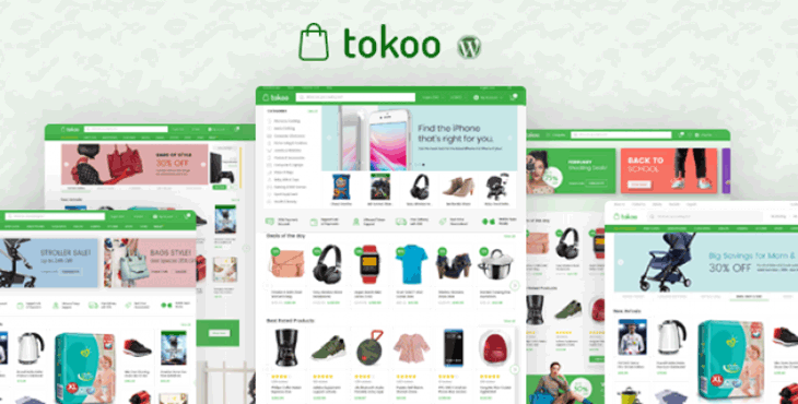 قالب وردپرس دیجی کالا فروشگاهی توکو tokoo