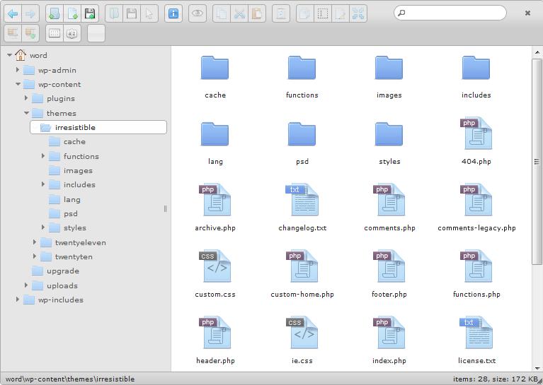 افزونه وردپرس فایل منیجر